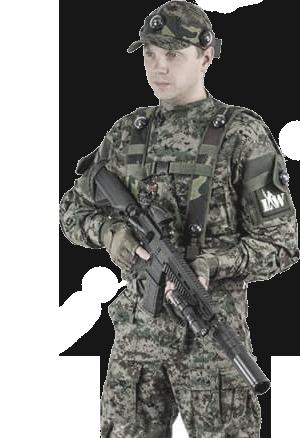 Комплект амуниции